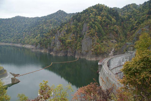 定山渓 豊平峡ダム